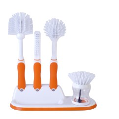 Kitchen Scrub Brush Cost To Have Cabinets Painted Beldray 4 Piece Scrubbing Set