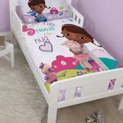 Doc Mcstuffins Chair Smyths Bungee Container Store Disney Hugs Junior Bedding Bundle