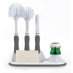 Kitchen Scrub Brush Unique Appliances Beldray La030979 4 Piece Scrubbing Set Grey