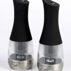 Electric Grinder Kitchen Dish Soap Dispenser Gino Pepper Mill Set | Small Appliances ...