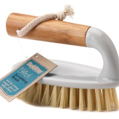 Kitchen Scrub Brush Island With Oven Beldray Bamboo Scrubbing