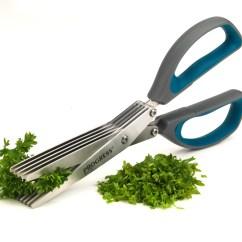 Kitchen Scissors Dornbracht Faucet Progress 5 Blade Herb Cutting 2cr14 Stainless Steel Tools