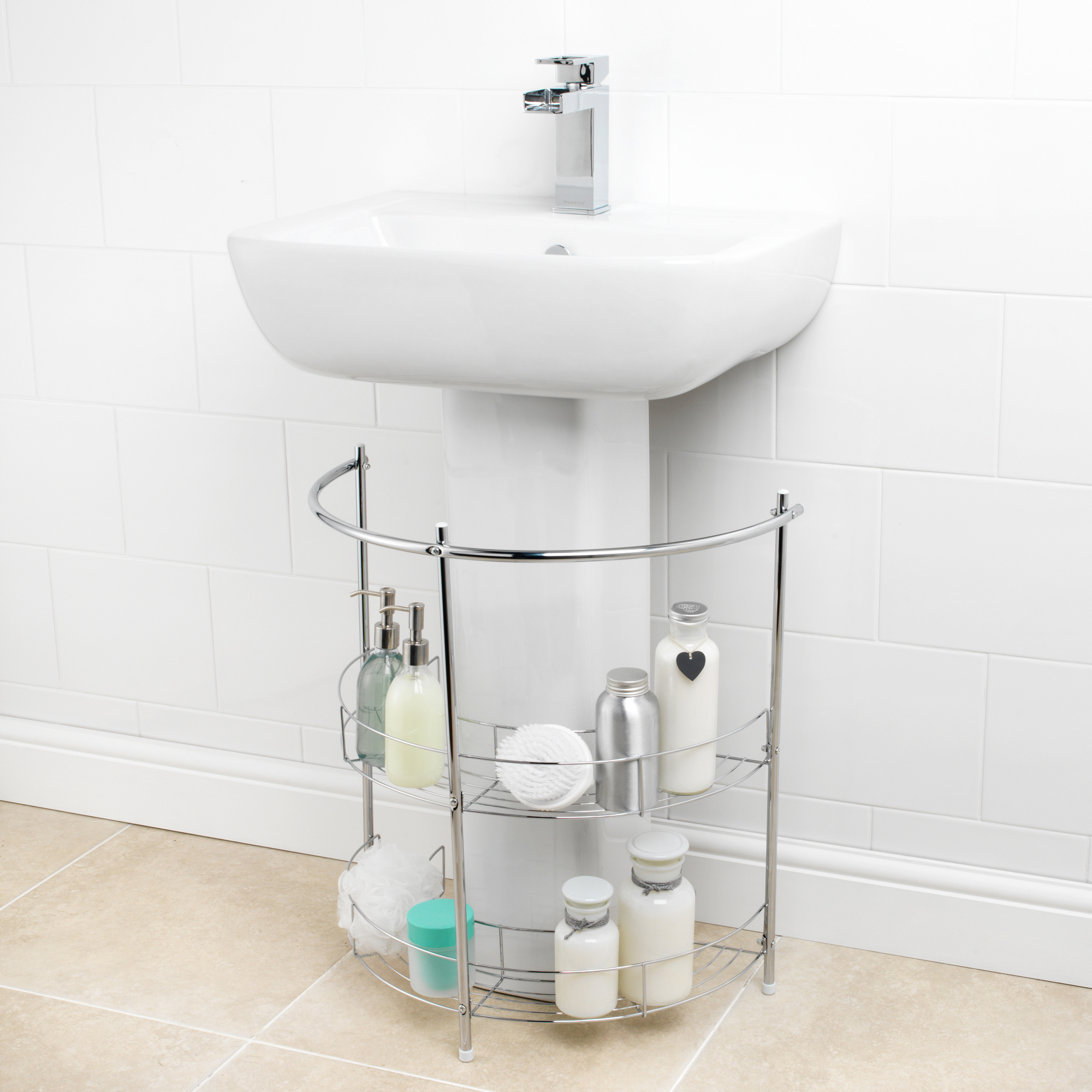 beldray la037152 under sink storage shelf unit