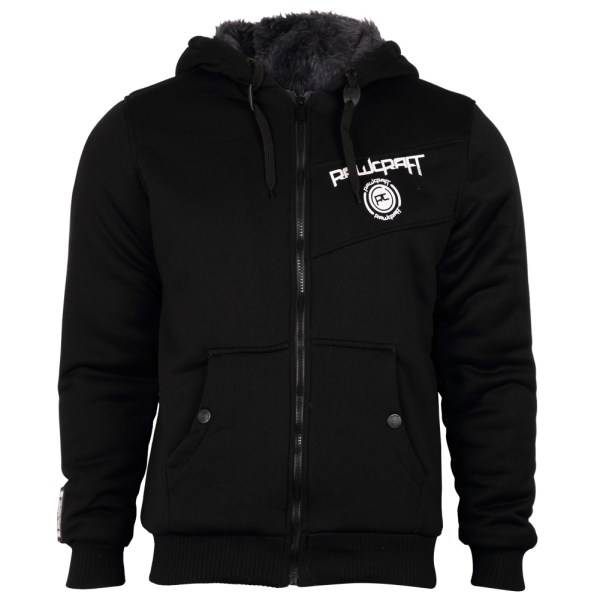 Mens Hoodies Rawcraft 606400 Fur Lined Designer Hooded