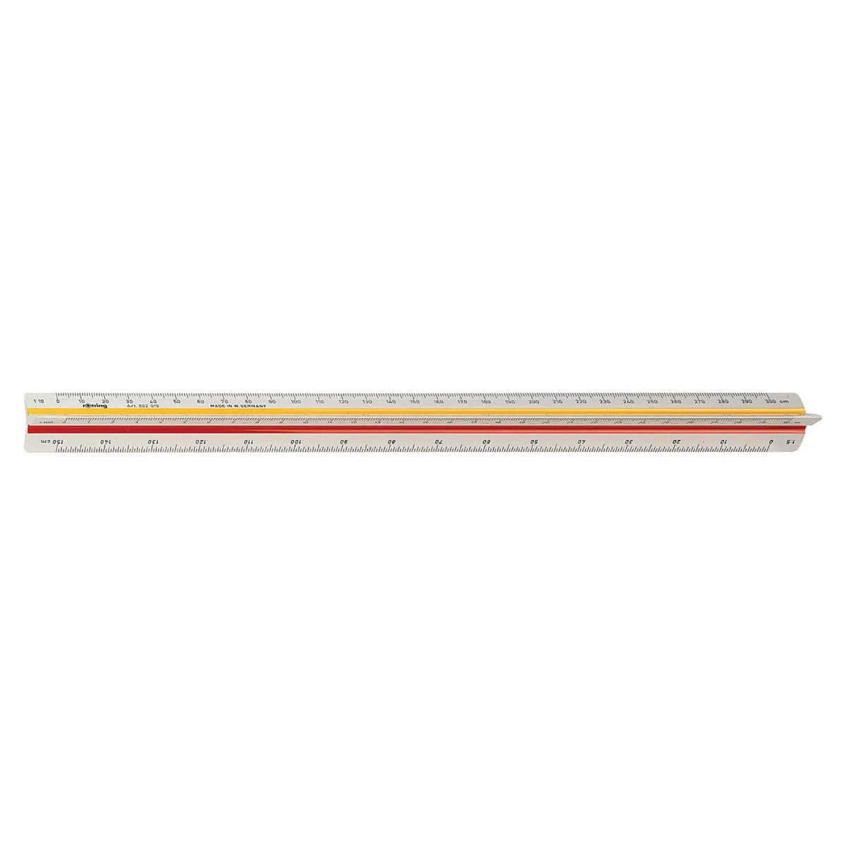 Rotring Ruler Triangular Reduction Scale 1 Architect 1 10