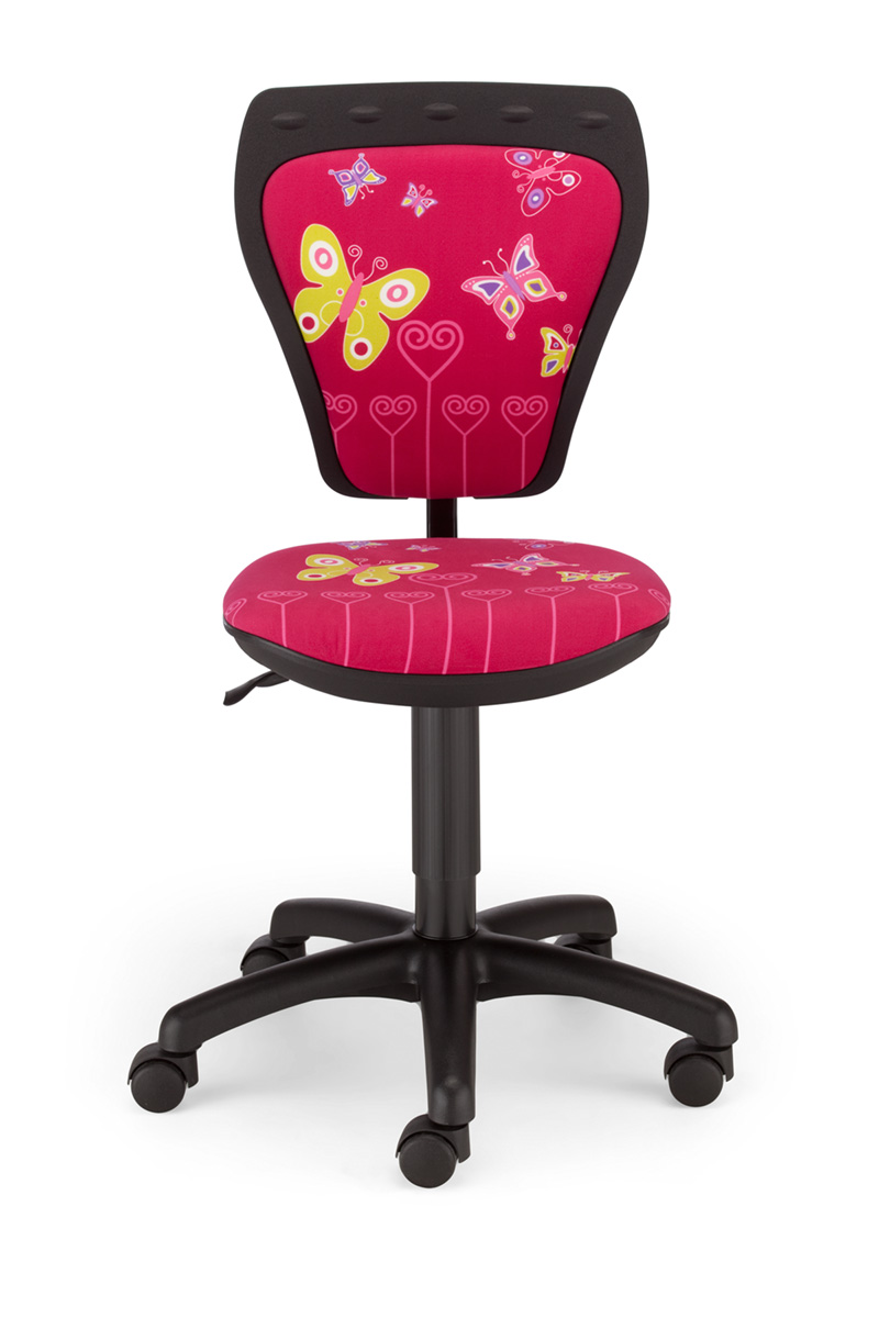 Childrens Cartoon Butterfly Girl Pink Kids Computer Desk