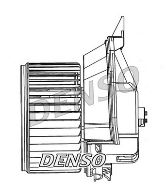 Denso Cabin Blower Fan DEA20200 Aircon A/C Vauxhall Corsa