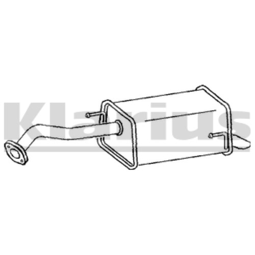 1x OE Quality Replacement MICRA 15DCI HB 8 03-4 Rear / End