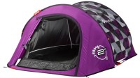 Quechua 2 Seconds Easy II In Purple Pixels Pop Up Tent | eBay