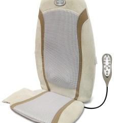 Back Massage Chair Ergonomic Accessories Homedics Gel Shiatsu Rolling Cushion
