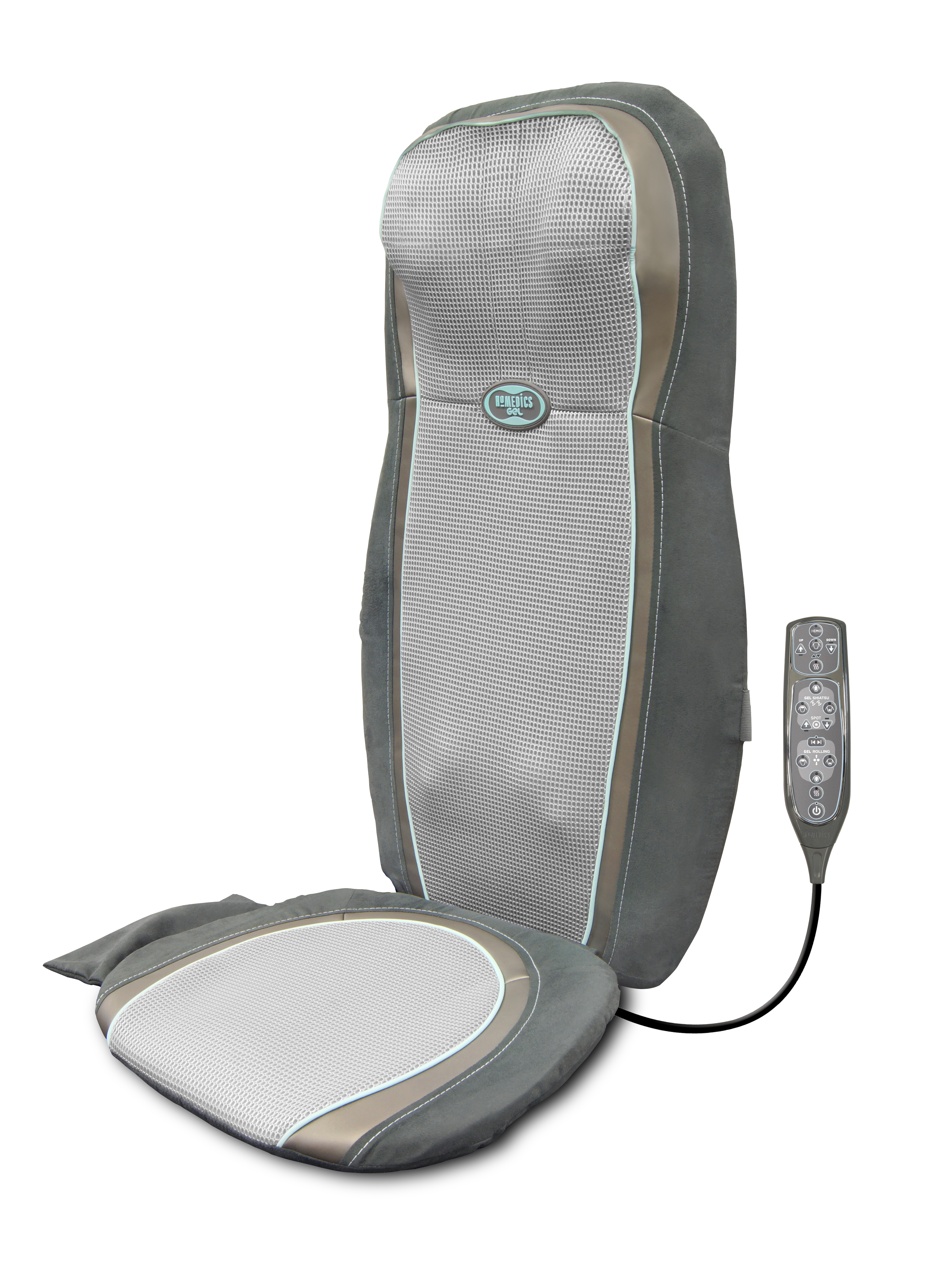Chair Back Massager Homedics 2in1 Back And Shoulder Shiatsu Massage Chair
