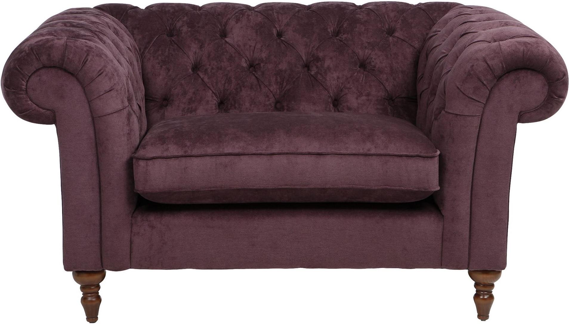 plum sofas uk wooden sofa sets online bangalore chesterfield luxurious velvet fabric loveseat 1 5 seat