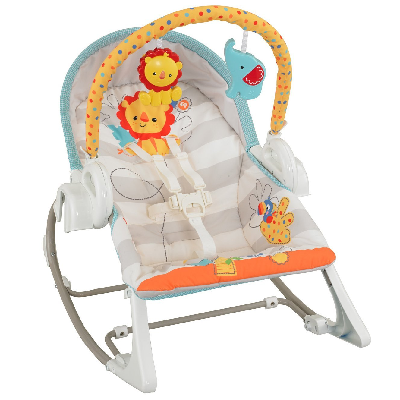 NEW Fisher Price 3in1 SwingnRocker Musical Baby Swing