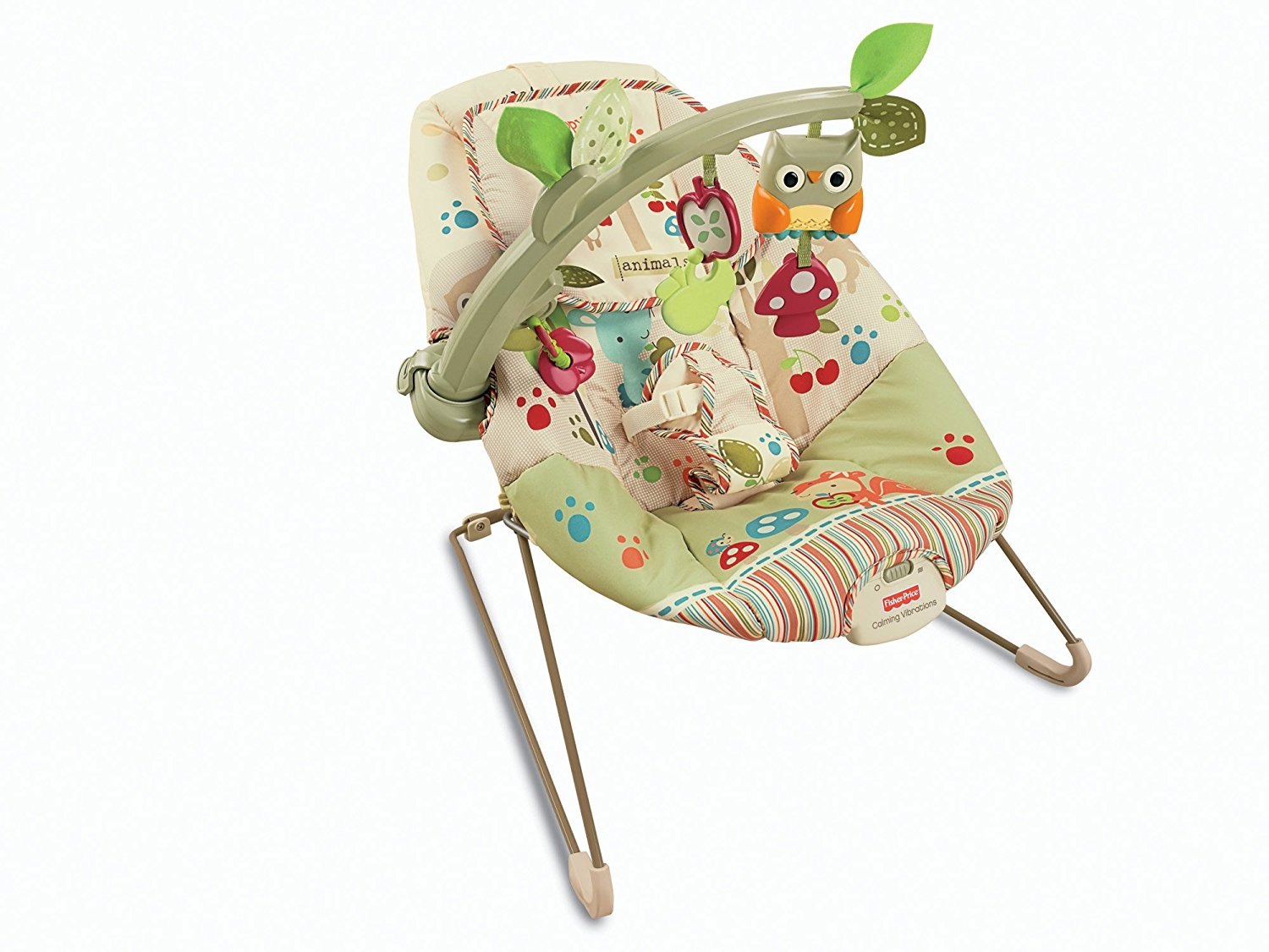baby bouncy chair asda red gaming new fisher price woodsy friends bouncer ebay