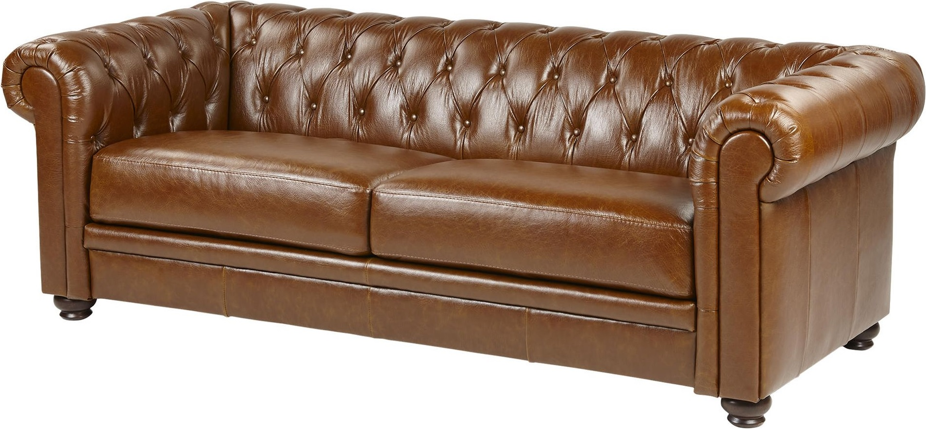 leather chesterfield sofa beige corner sofas on financing new mortimer large 3 seater real
