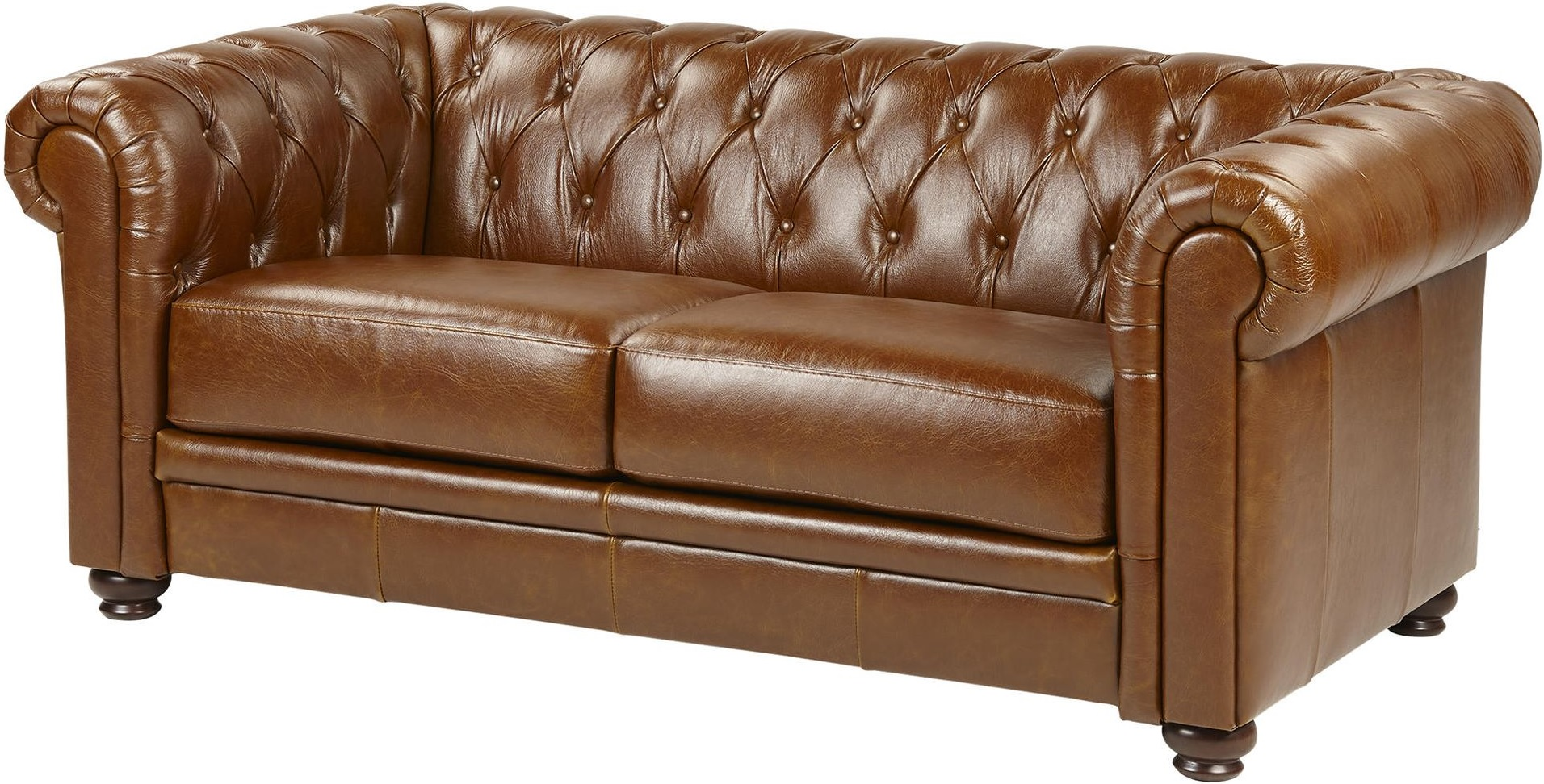 leather chesterfield sofa beige large bed tan antique belmont rub off