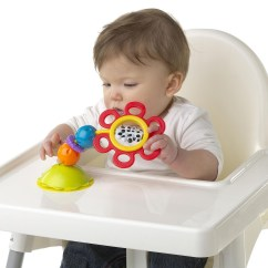 High Chair Suction Toy Nursing Stool New Playgro Twist Chew And Squeek Highchair