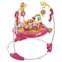 Fisher-Price Petals Jumperoo Baby Activity Centre Bouncer ...