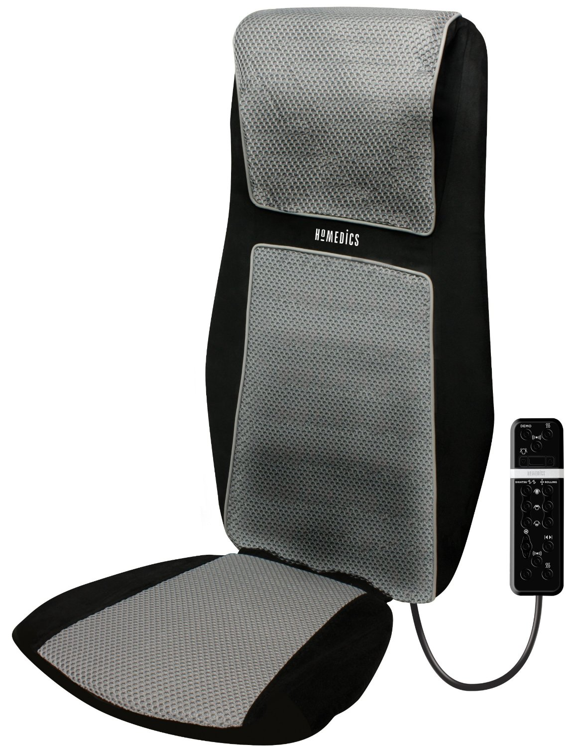 Chair Back Massager Homedics Sbm 600h 3d Shiatsu Ultimate Back And Shoulder