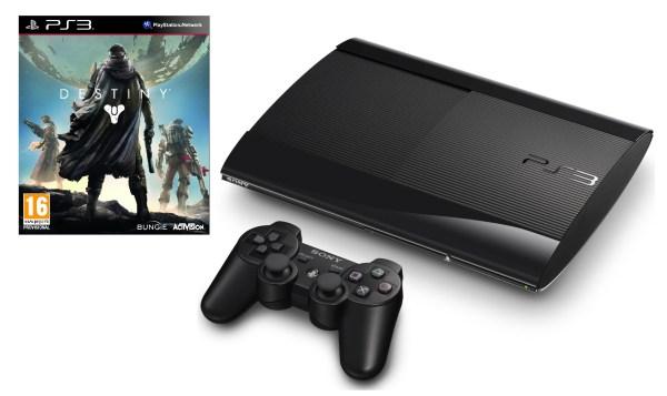 Sony Cech-4303c Ps3 500gb Super Slim Console Destiny Playstation 3 - Black