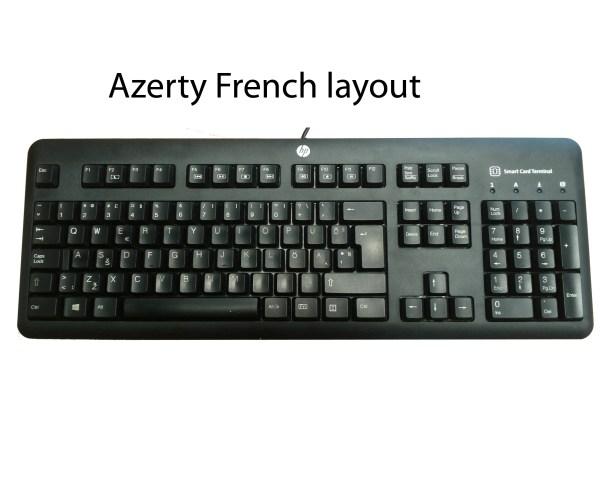 HP Keyboard Keys Layout