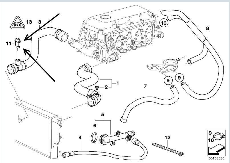 1997 Bmw 328i Engine Wiring Harness Oem 1997 BMW 328I