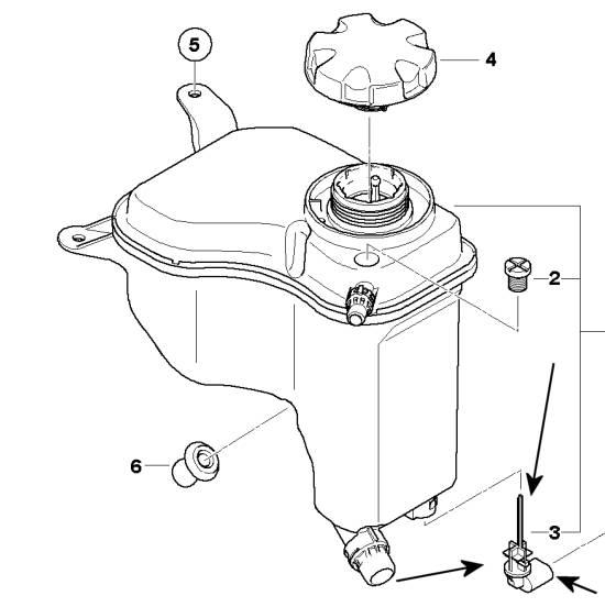 BMW E46 3 Series Coolant Level Sensor German Manufact