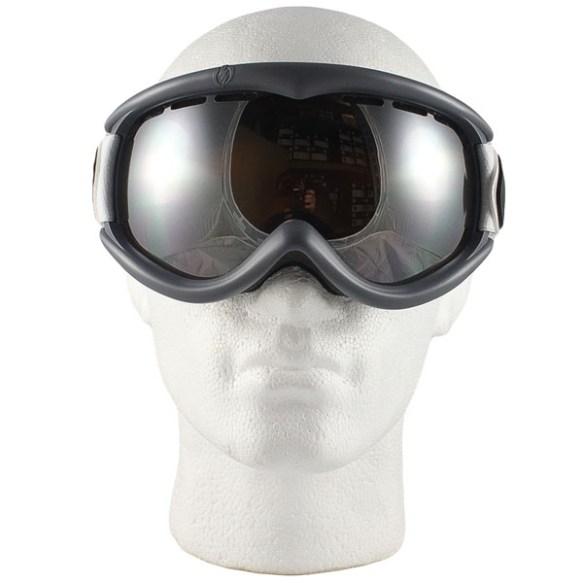 Electric EG1S snowboard ski goggles 2012 in Pat Moore Bronze Silver Chrome