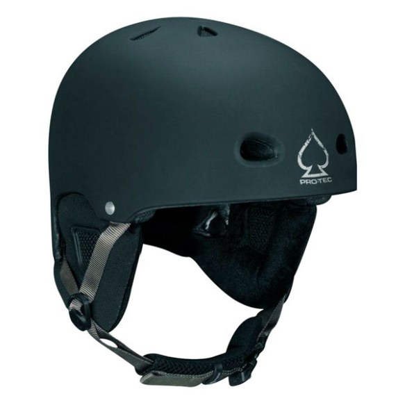ProTec Assault Plantronic Snowboard Helmet 2011 in Black Dot Size Small