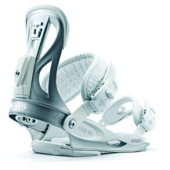 Union Lady Flite Snowboard Bindings 2012 in Silver