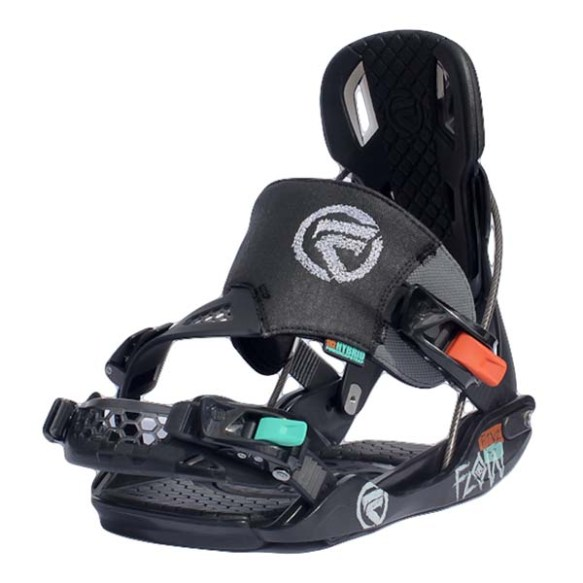 Flow Five SE Snowboard bindings 2013 in Black