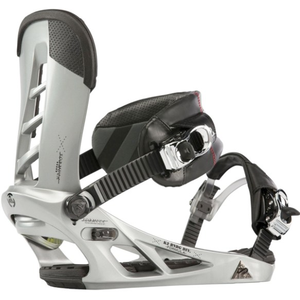 K2 Formula Snowboard Bindings 2013 in Silver