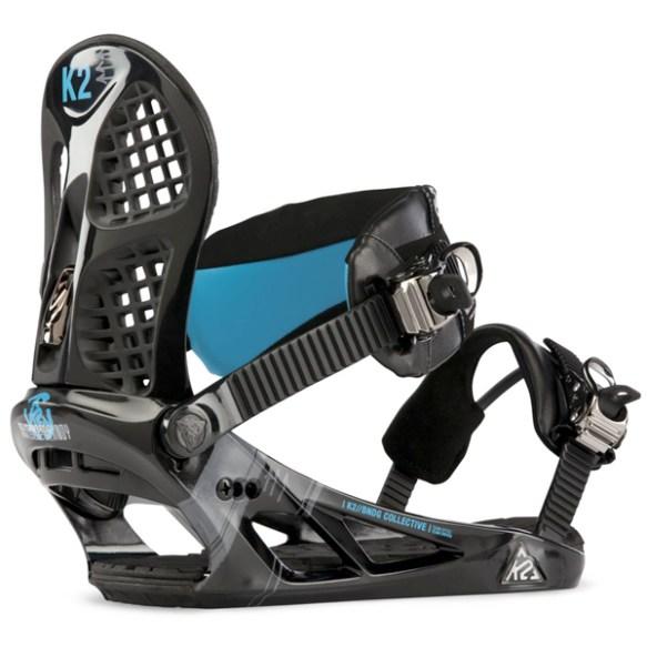 K2 Indy Snowboard Binding 2013 in Black