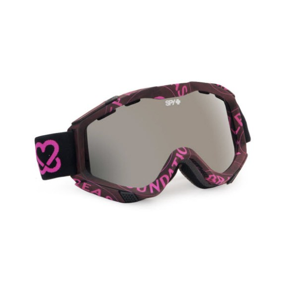 Spy Zed Keep A Breast Snowboard Ski Goggles Bronze Silver Mirror 2013