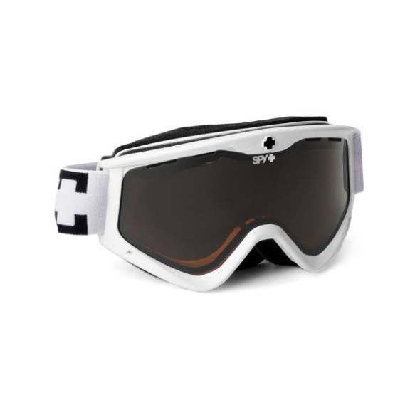 Spy Targa 3 White Snowboard Ski Goggles Bronze 2013