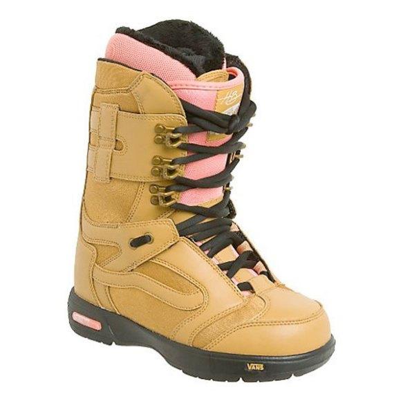 Vans Hi Standard Womens Snowboard Boots 2012 in Hana Brown