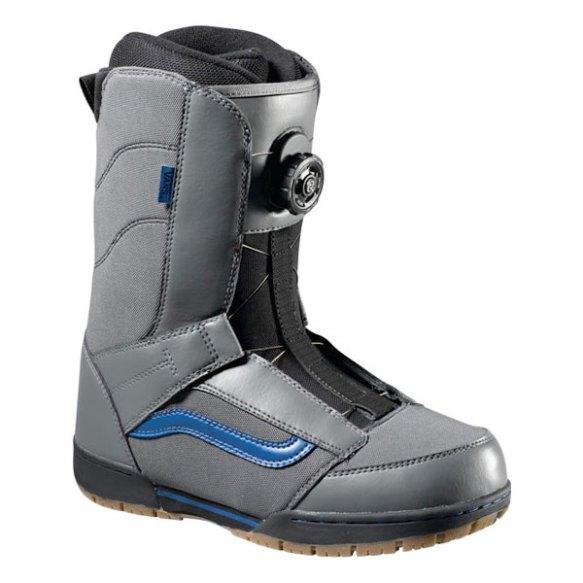 Vans Extent BOA Snowboard Boots 2013 in Grey Blue