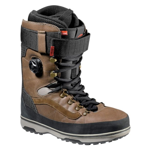 Vans Infuse Snowboard Boots 2013 in Brown Black