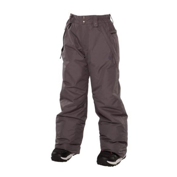 686 Mannual Brandy Girls Snowboard Pants Gunmetal Medium Sample 2014 Age 8-10