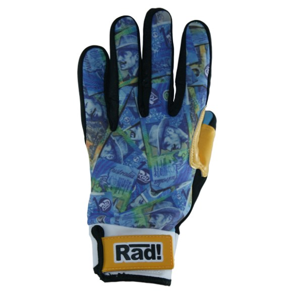 Radical Preen Up Pipe Gloves 2014 Blue