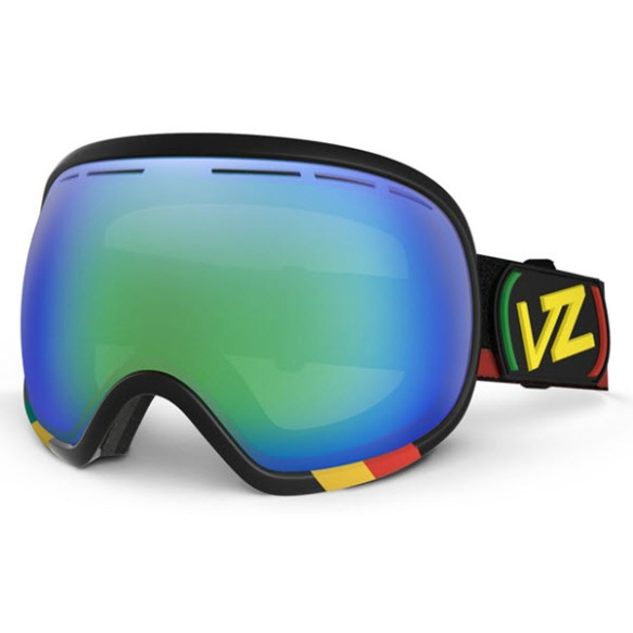 Von Zipper Fishbowl Goggles Vibrations Quasar Chrome lens New 2014