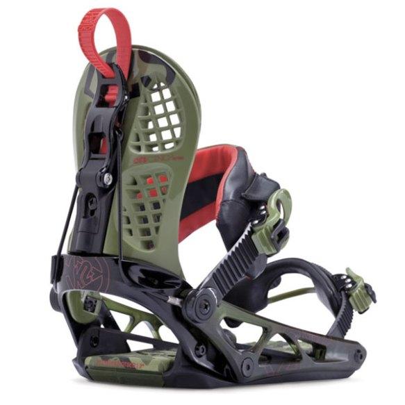 K2 Cinch CTS 2014 Snowboard Bindings New Camo 2014 Size XL