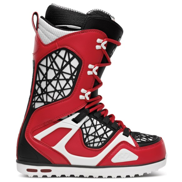 Thirtytwo TM-TWO Snowboard Boots 2014 in Red Black