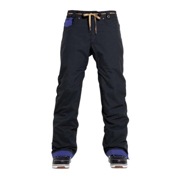 686 Forrest Bailey Cosmic Snowboard Pants Black Colorblock 2015 Large Sample