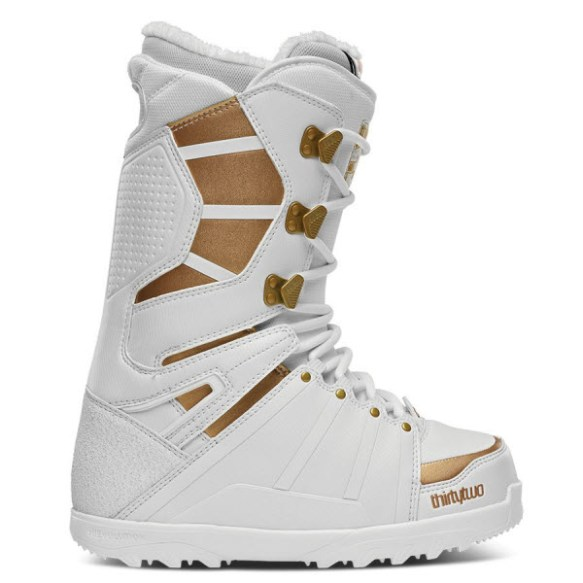 Thirtytwo 32 Womens Lashed Snowboard Boots White New Sample 2014 - UK 4.5