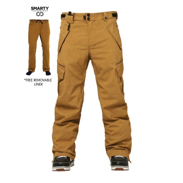 686 Authentic Smarty Cargo Mens Snowboard Pants 2015 Various Sizes and Colours