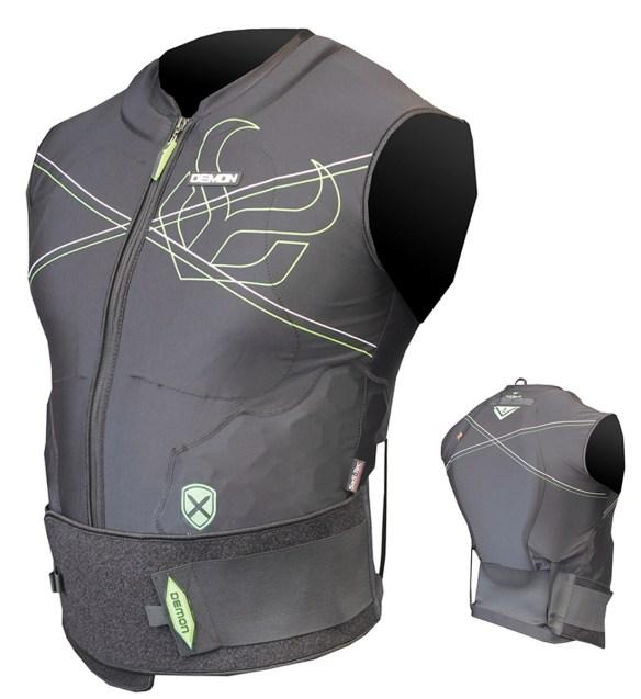 Demon X D30 Snowboard Vest Body Armor 2015 Spine guard
