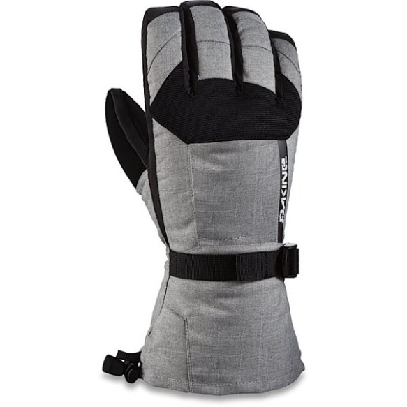 Dakine Scout Mens Snowboard Ski Gloves Removable Liners 2015 Heather large
