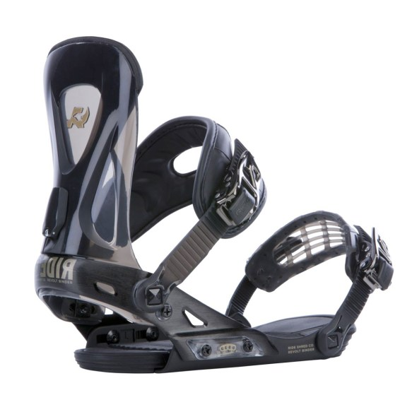 Ride Revolt Snowboard Bindings All Mountain Freestyle 2015