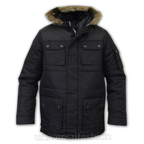 Boys Sherpa Lined Coats for Winter